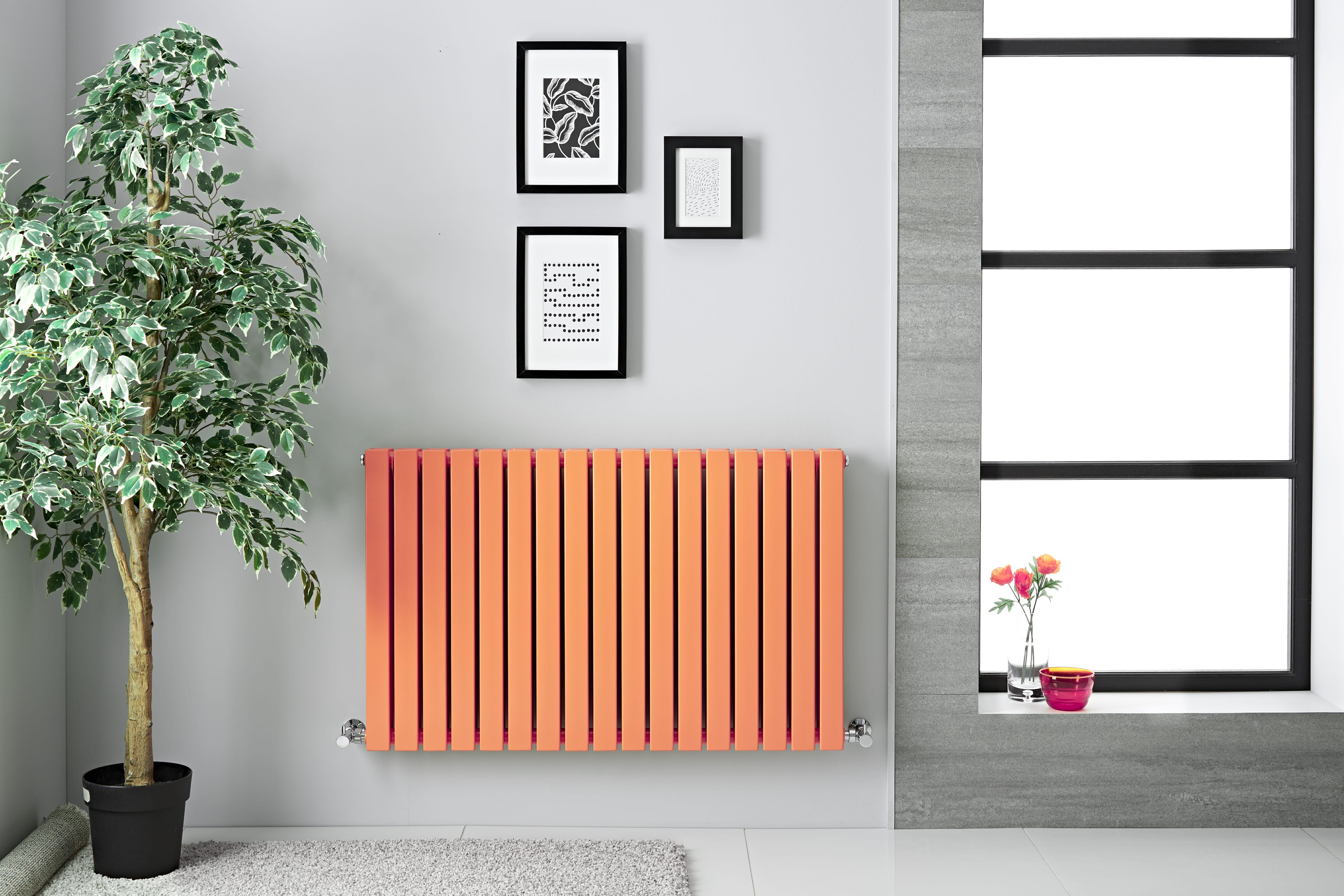 Milano Capri - Orange Designer Radiator
