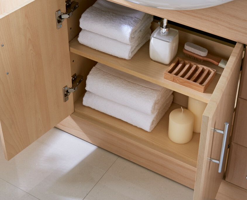 Intelligent Bathroom Storage