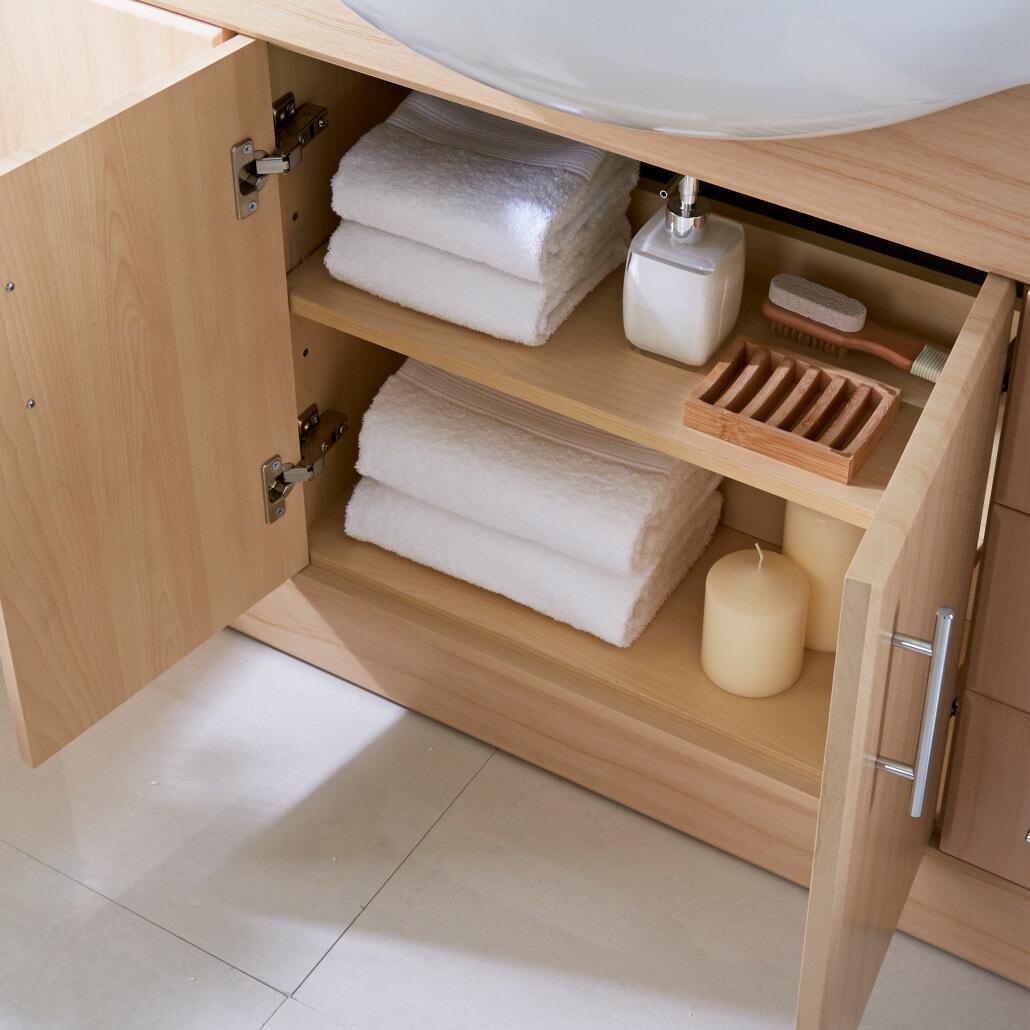 Intelligent Bathroom Storage