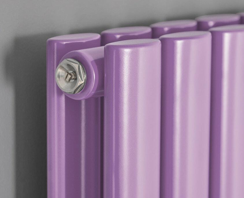Purple Milano Aruba - Designer Radiator
